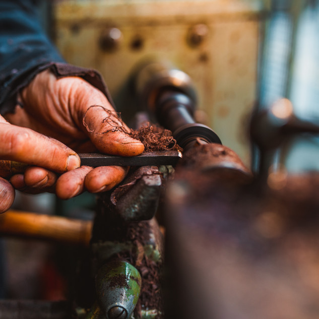 Kilberry Bagpipes making process