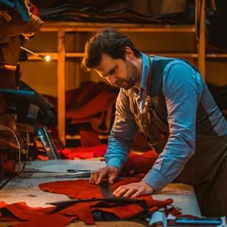 Mackenzie Leather making process