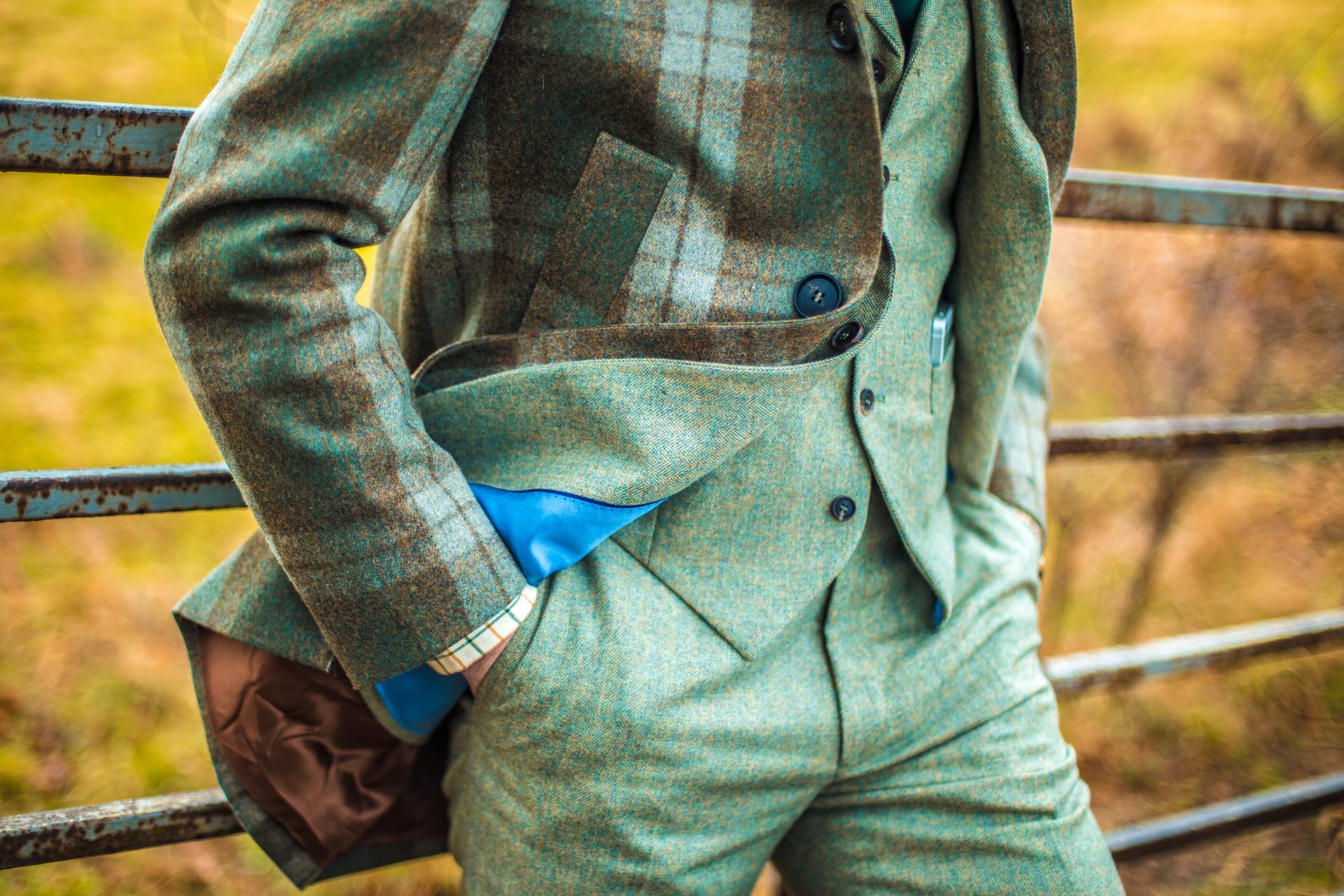 Tweed detail by Julien Borghino