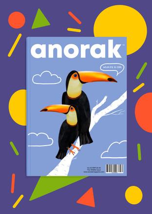 Alexandra Borghino-Magazine cover-anorak