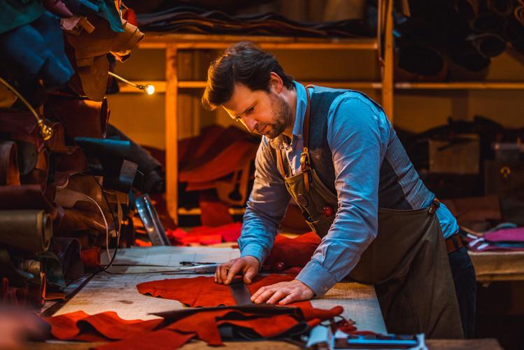 MacKenzie Leather Edinburgh | Workshop