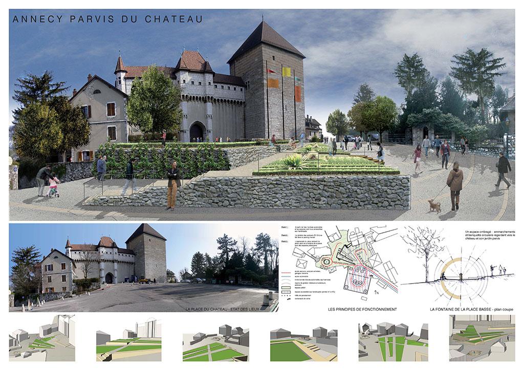 Annecy_-_Parvis_du_château