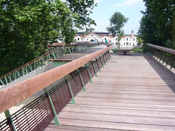 Angoulême Passerelle Magelis