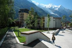 Chamonix - Arrière résidence