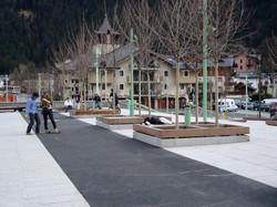 Chamonix - Place du Mont Blanc