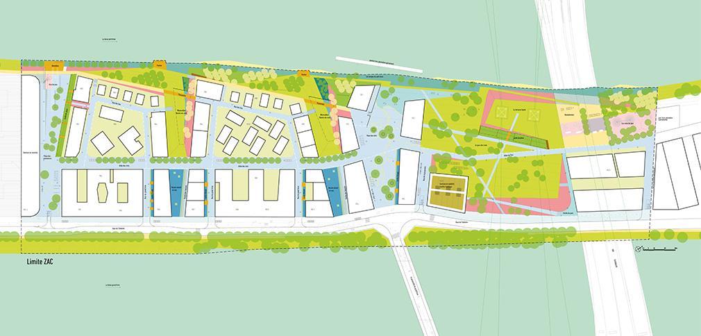Ile-St-Denis / Ecoquartier fluvial