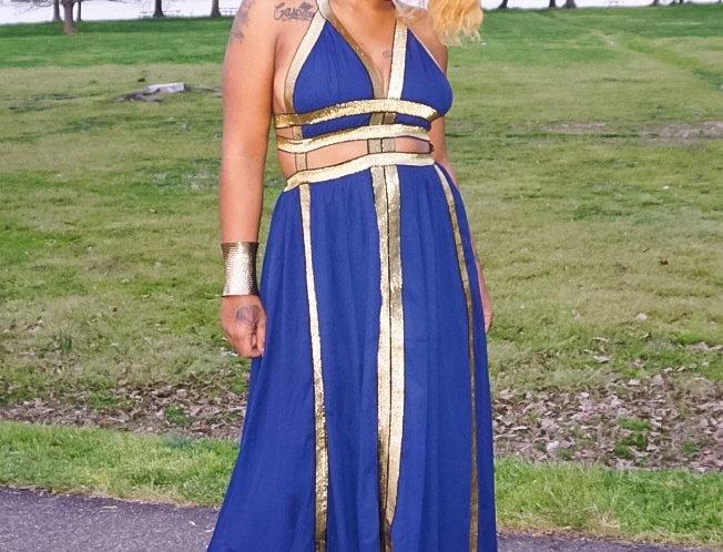 GIA GRECIAN DRESS