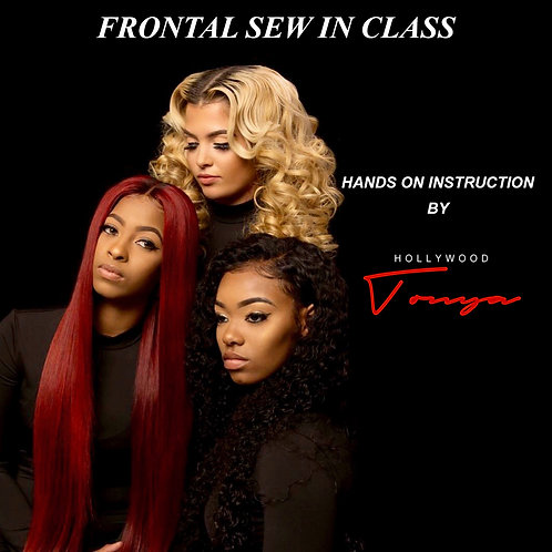 Hands On Sew-In Frontal Class
