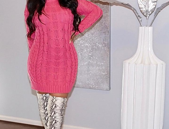 KATRINA SWEATER DRESS