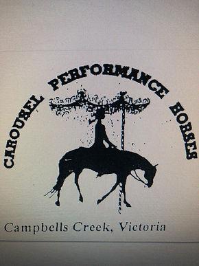 Carousel Performance Horses (Raelene Gil