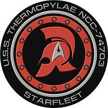 USS Thermopylae logo