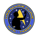 The USS Marie Curie ship patch