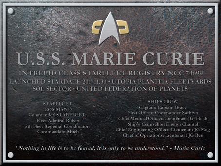 We have a plaque!