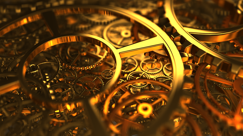 Gold Cogs- Dominion Legal