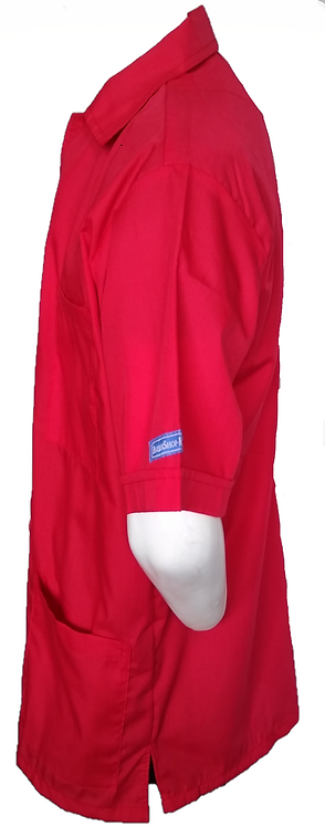Red Barber Cosmetologist Stylist Coat