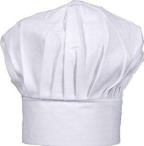 White Twill Chef Hat Big & Tall