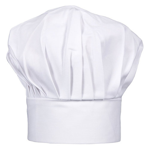 Kids White Twill Chef Hat Adjustable Comfortable