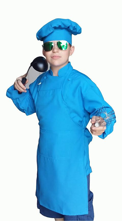 copy of Kids Blue (Turquoise) Chef Jacket