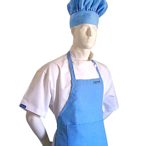 Adult Chef Apron in Baby Blue