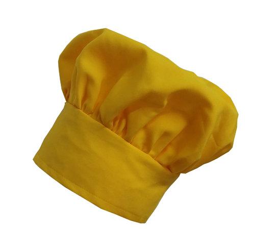 Kids Yellow (banana) Chef Hat Adjustable Comfortable
