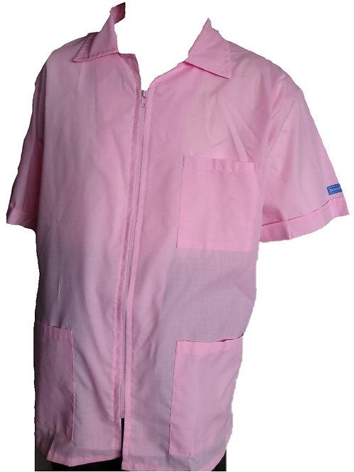 Soft Pink Barber Cosmetologist Stylist Coat