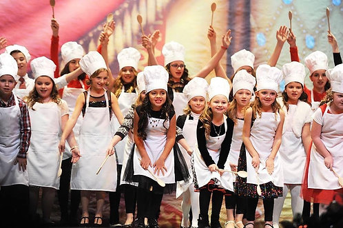 Party Set # 2 Great Party! (10 Aprons + 10 Chef Hats +1 personalized Chef Jacket