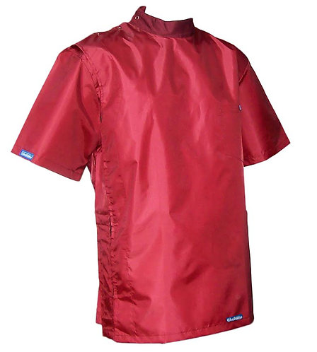 Burgundy Red Wine Vintage Barber Coat Jacket