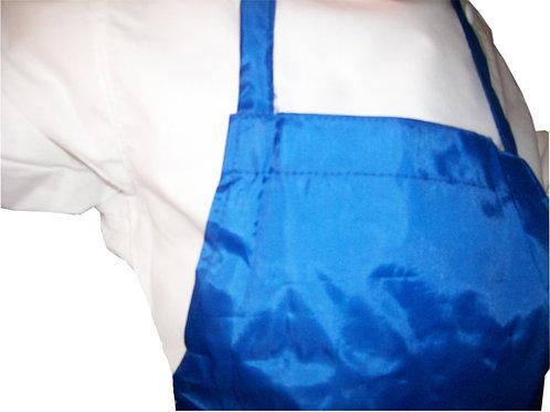 Kids Royal Blue Apron PLASTIC-Protec