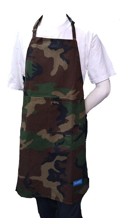 Chef Adult Apron in CamoWoodland