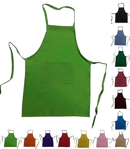 Party Set #1 Basic Fun (10 Aprons + 1 personalized Hat for party kid)