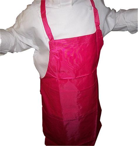 Kids Hot Pink Fuchsia Apron PLASTIC-Protec