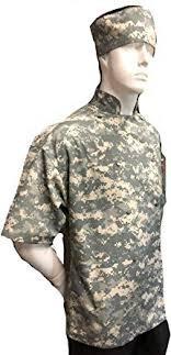 Camo Chef Jacket Camouflage