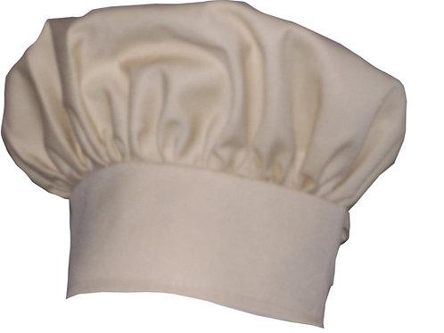 Kids Cappuccino Brown Chef Hat Adjustable Comfortable