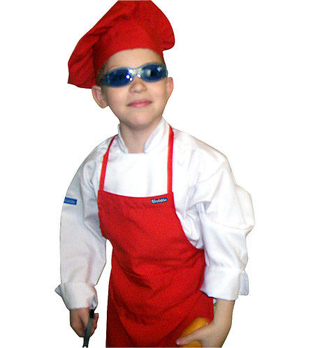 Kids Apron + Hat
