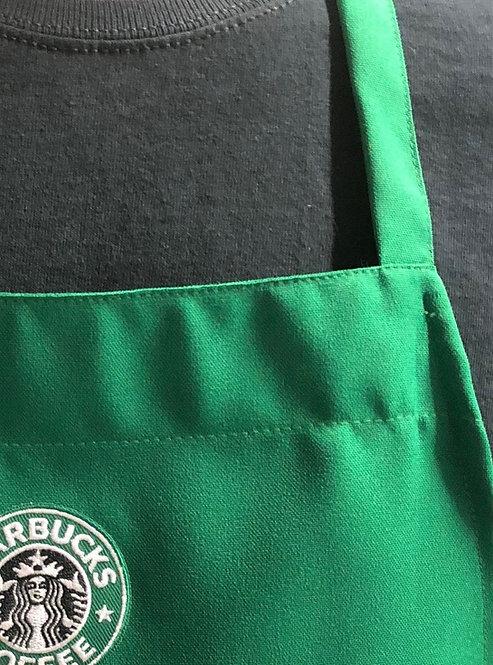 Kids Barista Green  Apron Starbucks Color