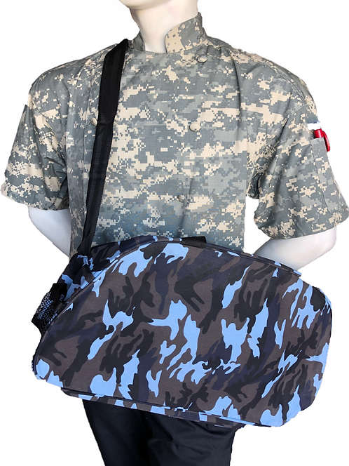 Chef Adult Gym Bag Square in Camo