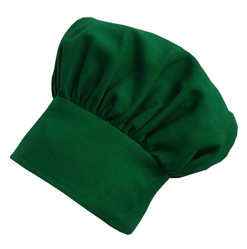 Kids Kelly Green Chef Hat Adjustable