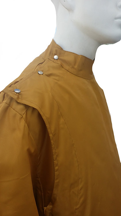 Gold Vintage Barber Coat Jacket
