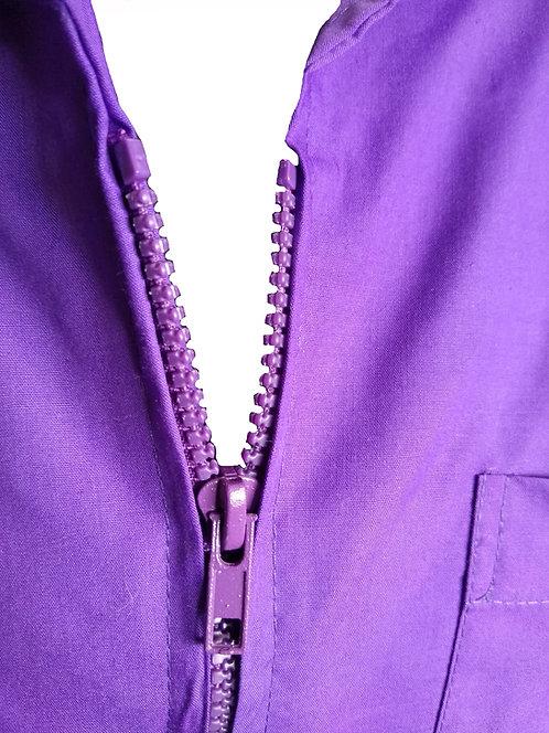 Light Purple Barney Barber Cosmetologist