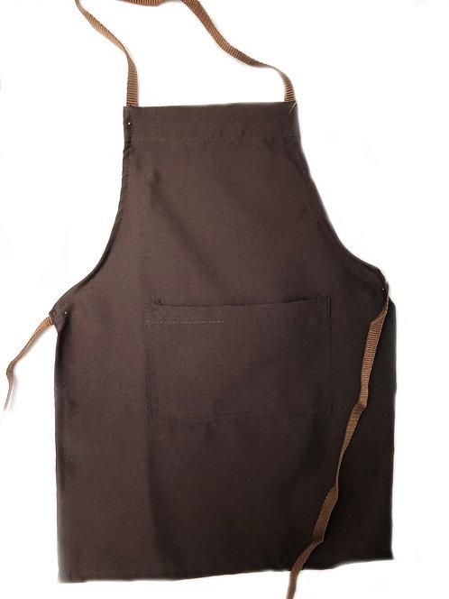 Kids Brown (Oreo) Apron with pocket