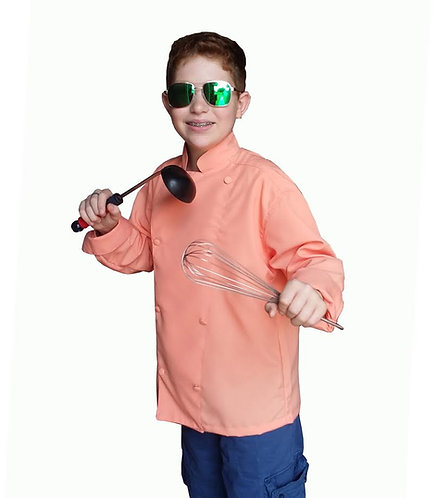 Kids Coral Chef Jacket *Very Few Available