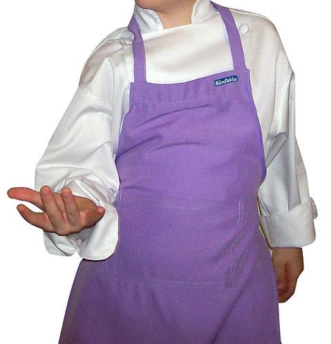 Kids Lavender (Lilac) Apron with pocket