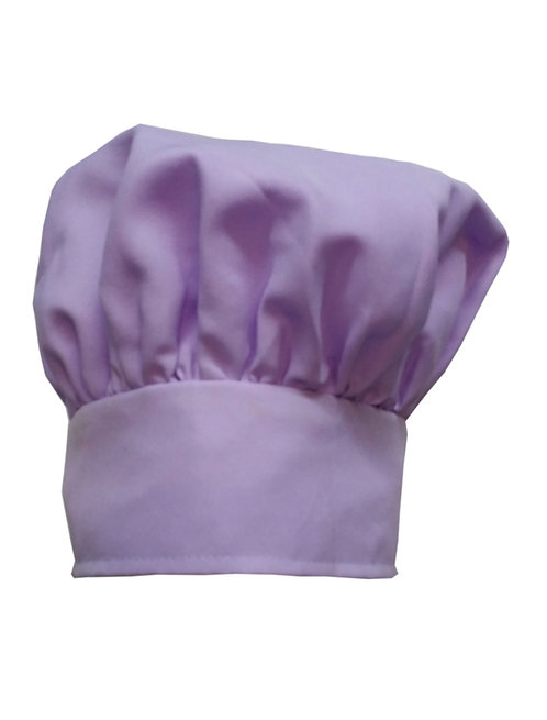 Kids Lavender (Lilac) Chef Hat Adjustable Comfortable
