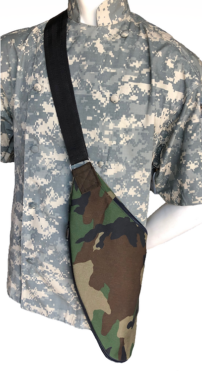 Chef Adult Kidney Style Bag in Camo