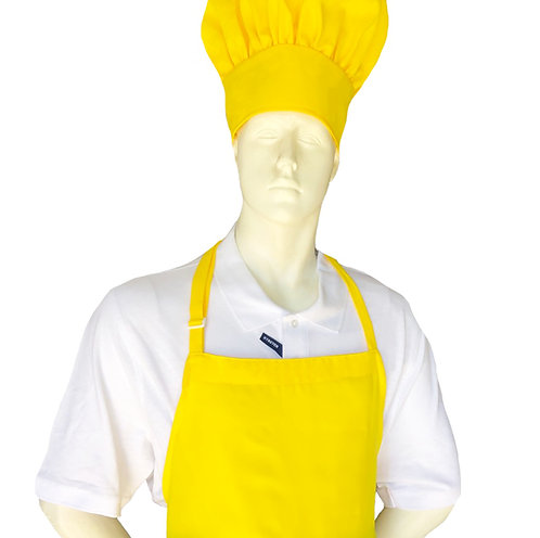 Adult Chef Apron in Yellow