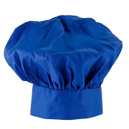 Kids Royal Blue Chef Hat Adjustable Comfortable