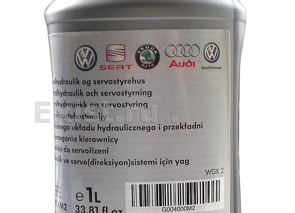 """VAG G 004 000 M2 Жидкость гур """"Power Steering Fluid G004"""", 1л"""