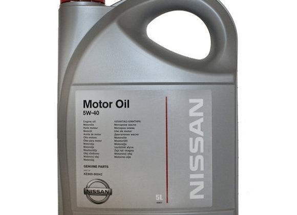 NISSAN Motor Oil 5W-40 5 л.