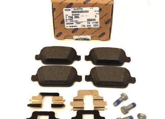 Ford 1 756 395 Колодки тормозные дисковые задние комплект