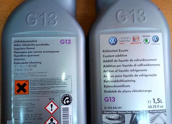 """Антифриз VAG G 013A8JM1 Жидкость охлаждающая 1.5л. """"Coolant"""", фиолетовая"""